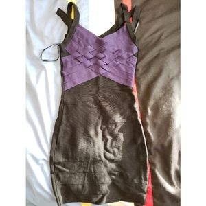 Marciano bandage dress